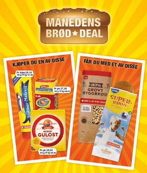 Coop Prix brød deal