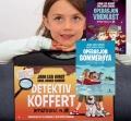 Få stor detektivkoffert og to detektiv-bøker av Jørn Lier Horst
