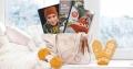Få stor strikkepakke med bøker, garn og oppskrift til Rosevotten