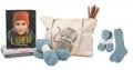 Få stor strikkepakke med bøker, garn og oppskrift til Bestesokken