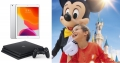 Vinn opphold for 4 ved Disneyland, iPad, Playstation og enda mer