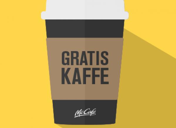 gratis kaffe mcdonalds januar