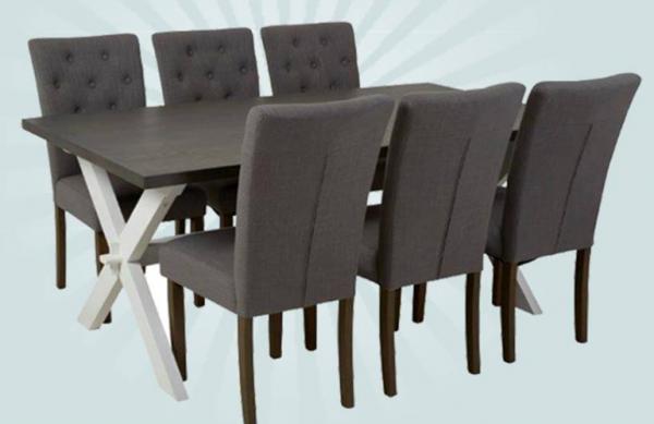 Utrolig Vinn spisebord med stoler verdt ca. 12 000 kroner i enkel konkurranse BD-43