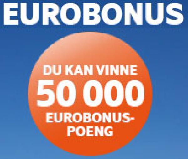d58e98596 Vinn 50.000 Eurobonus-poeng fra SAS