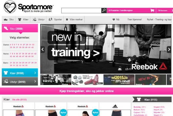 4465e4ea Sportamore er en online nettbutikk som selger sportsklær og sportsmote på  nett. Du finner både sko og klær fra de mest populære merkene i deres  sortiment.
