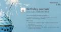 Få 100 kroner til bruk i taxfree-butikkene helt gratis når du har bursdag