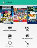 Appen eTilbud gir deg enkel oversikt over kundeaviser og tilbud til norske butikker