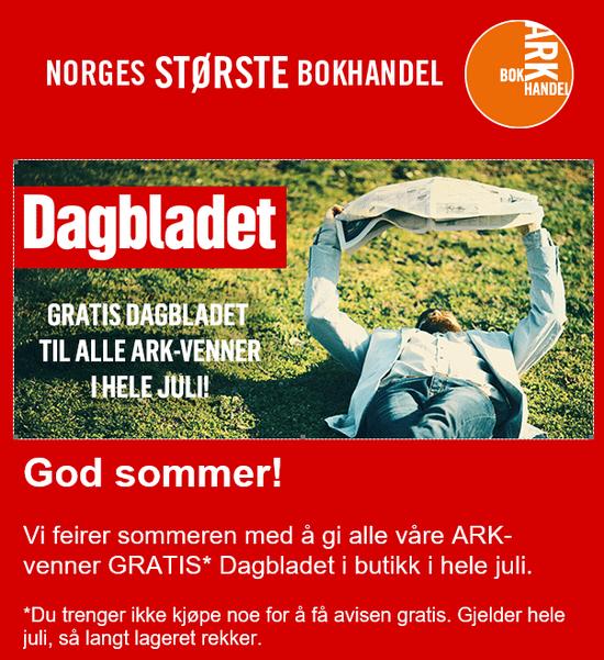 Få Dagbladet helt gratis i juli måned