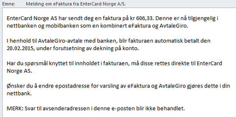 Entercard og Remember kredittkort
