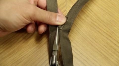 Reparer ødelagt glidelås