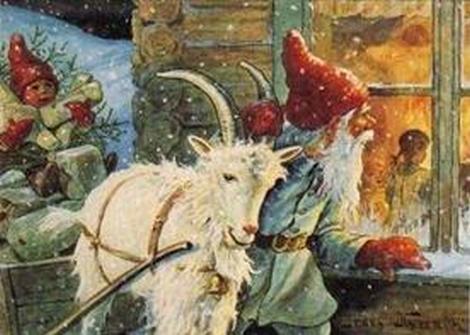 Å gå julebukk er en god, gammel tradisjon i Norge