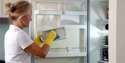 Vask godt i kjøleskapet