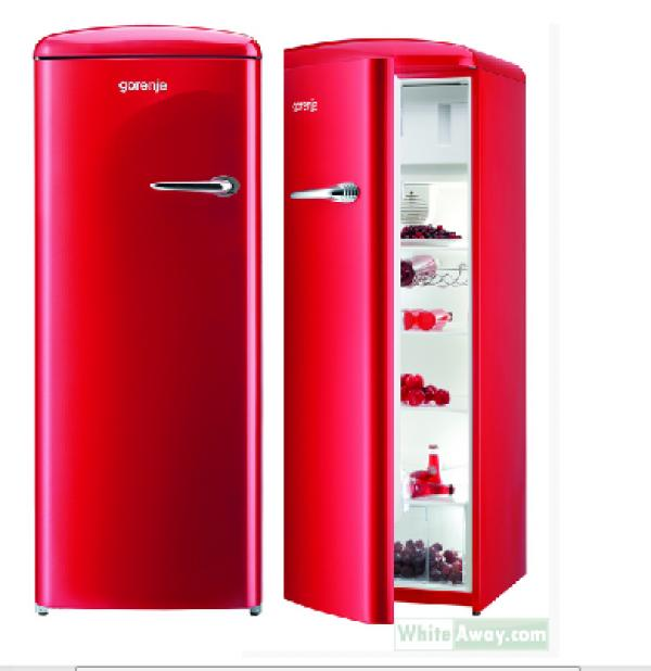 Husky retro 130 kjøleskap