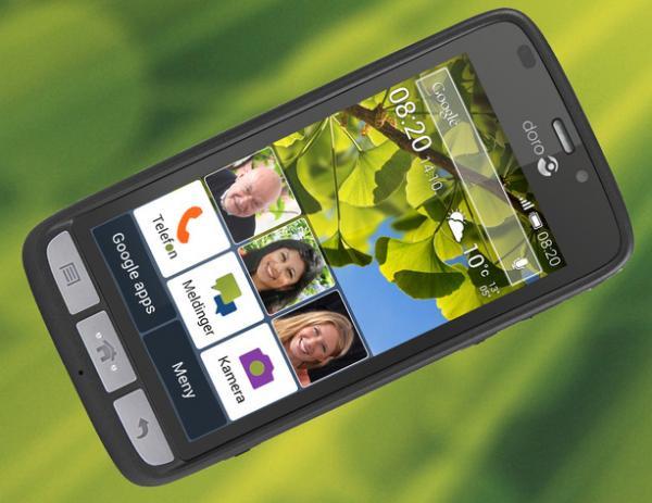 Smarttelefon for eldre