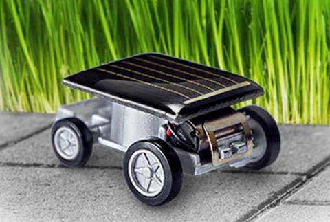Solcelledreven bil