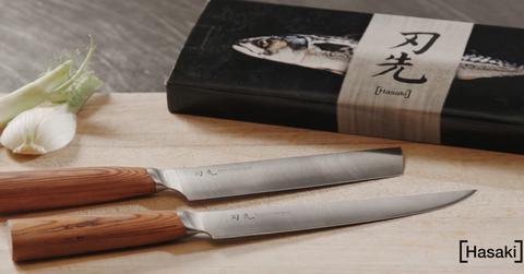 Hasaki Omakase japansk knivsett