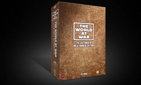 The World At War DVD-boks