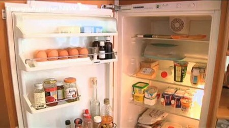 Plassering av kjøleskap